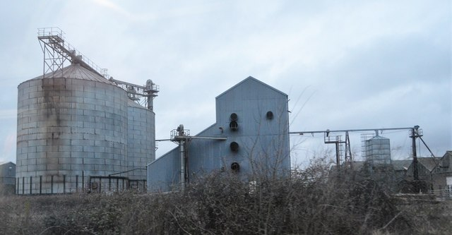 Factory by Kennett Station