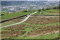 ST1188 : Eglwysilan Road, Mynydd Meio Common by M J Roscoe