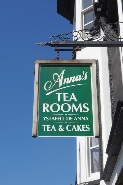 Anna's Tea Rooms, Conwy