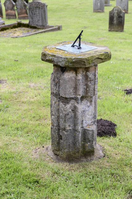 Sundial outside Legsby church