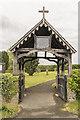 TF1385 : Lychgate, St Thomas's church, Legsby by Julian P Guffogg