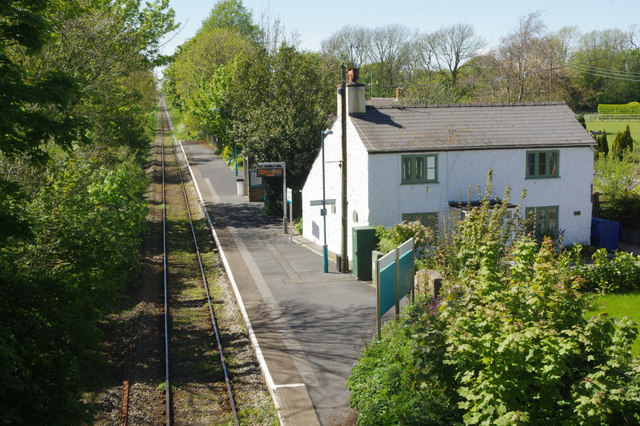 Lamphey Station