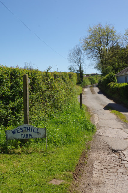 Track to Westhill Farm