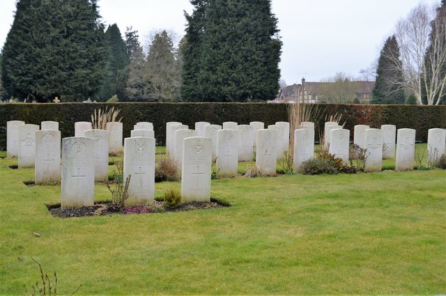 Commonwealth War Graves, Kent & Sussex Cemetery