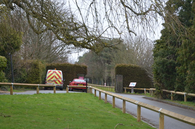 Entrance to Kent & Sussex Cemetery