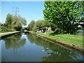 SP0891 : The Tame Valley canal at the entrance to Whitton Road wharf by Christine Johnstone
