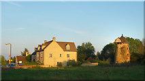 SP3812 : Evening Sunlight at North Leigh by Des Blenkinsopp