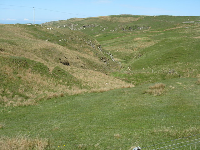 The valley of the Lossit Burn