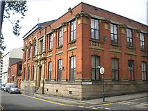 SJ9398 : Former Ashton under Lyne Mechanics' Institution by Richard Vince