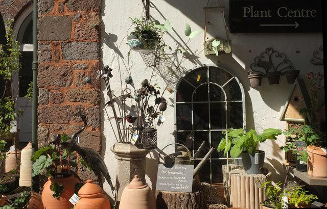 Garden sales at Killerton