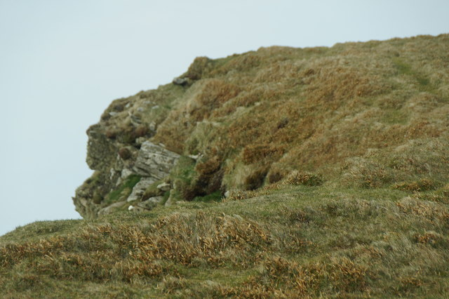 The summit of the Kame, Foula