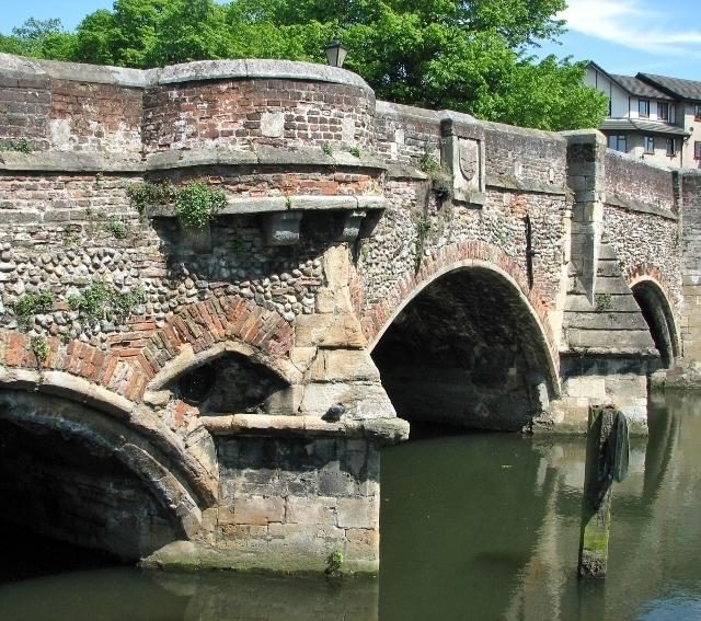 Bishop's Bridge - a scheduled ancient monument