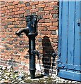 TG2308 : Old water pump by Evelyn Simak