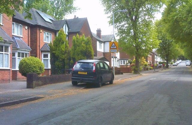 Claremont Road Scene