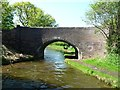 SK0300 : Winterley Bridge, from the north-east by Christine Johnstone