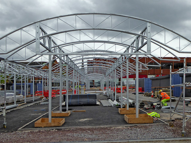Progress on Wolverhampton's new retail market