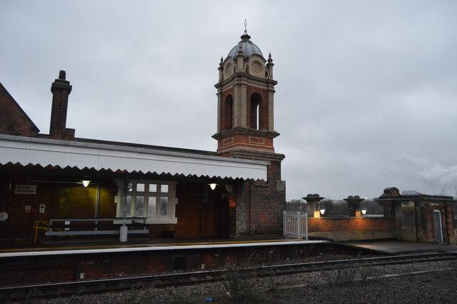 Decorative detail, Bury St Edmunds Station
