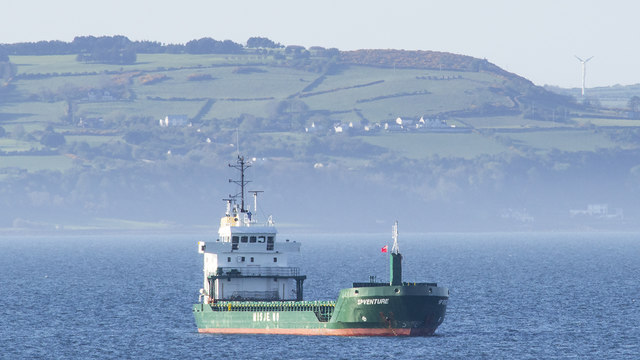The 'SP Venture' off Bangor