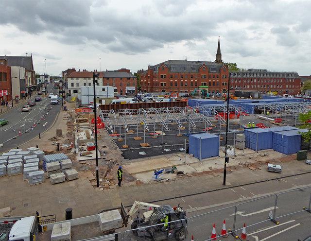 Progress on Wolverhampton's new retail market
