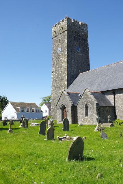Lamphey Church