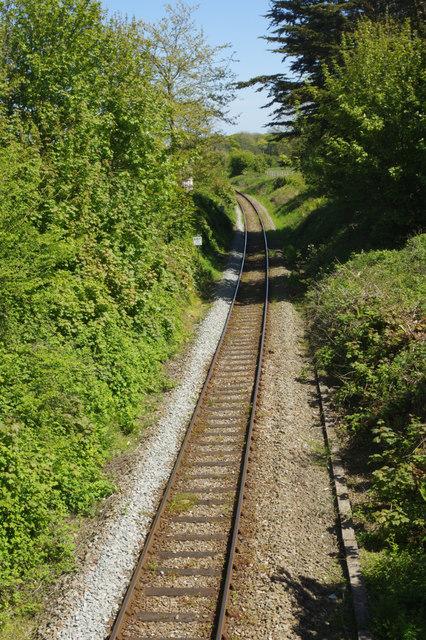 Railway at Lamphey