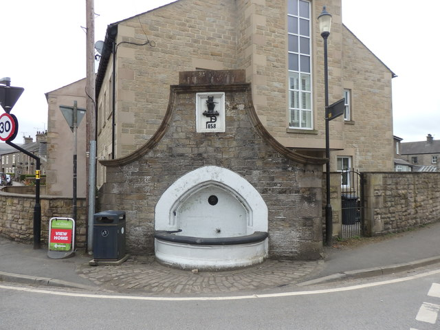 Grade II Listed Drinking Trough, Hornby