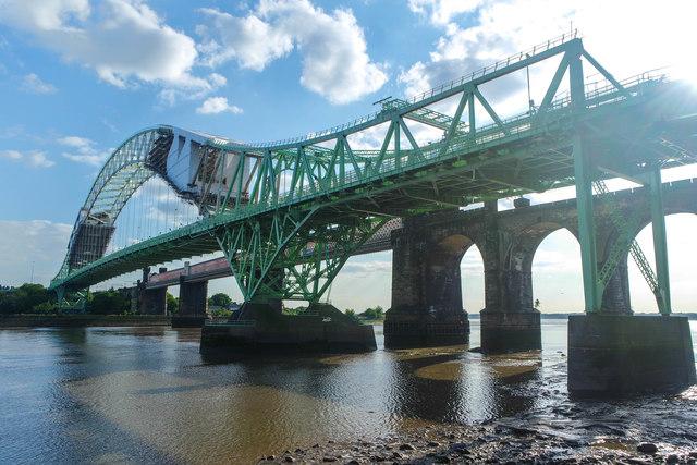 Silver Jubilee Bridge maintenance, Halton