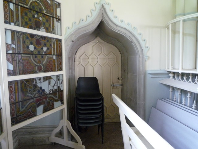 Vestry Door at St. John the Evangelist's Church (Shobdon)