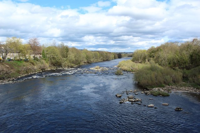 The River Tyne at Wylam