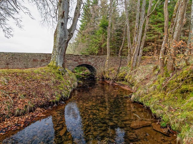 Bridge over the Goose Burn