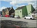 NX6851 : Contrasting building styles, Kirkcudbright by Richard Sutcliffe