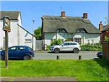 SK6415 : Little Thatch, 43 The Green, Thrussington by Alan Murray-Rust