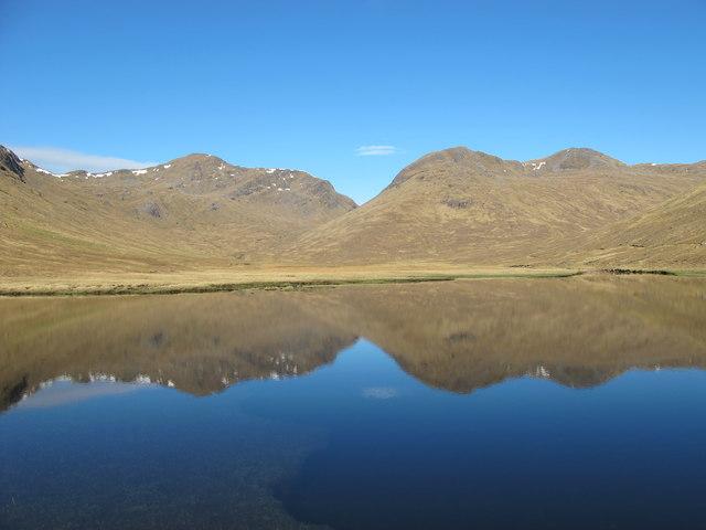 Reflections on Loch Monar