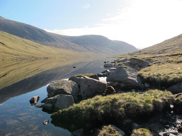 Looking East along Loch Monar