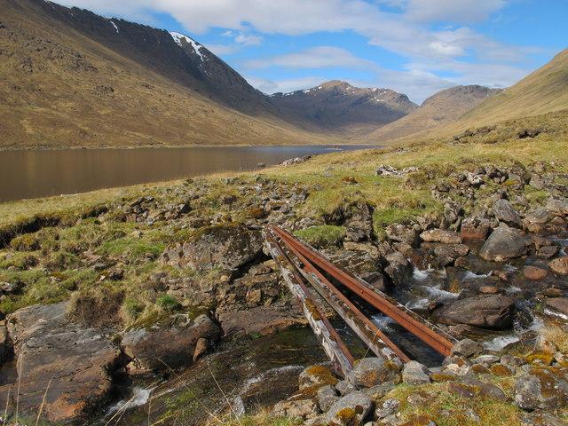Nice Bridge on the North side of Loch Monar