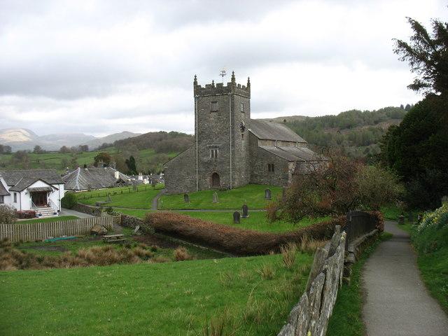 St Michael and All Angels church, Hawkshead