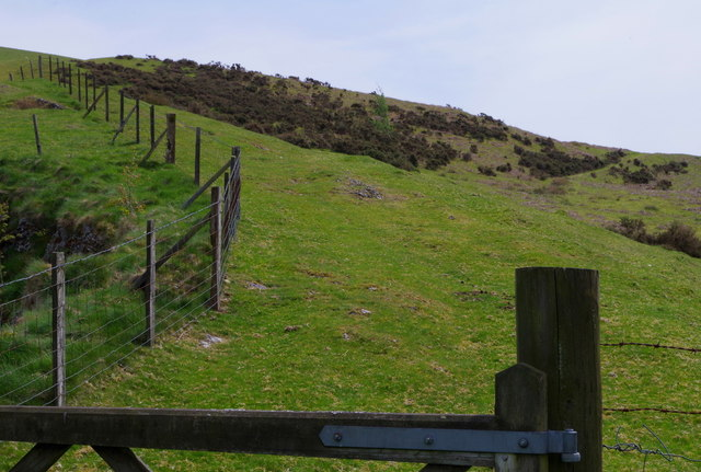 Gate onto the Carneddau access land