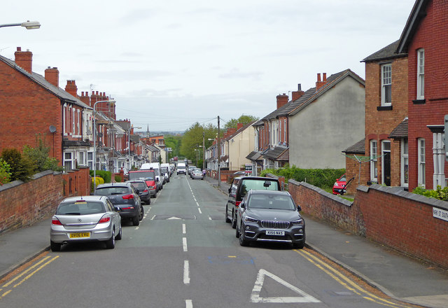 Park Street South near Blakenhall in Wolverhampton