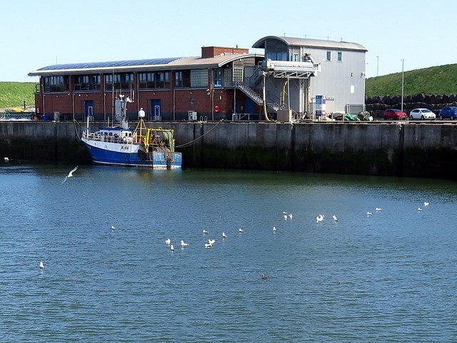 New Fish Market, Eyemouth Harbour