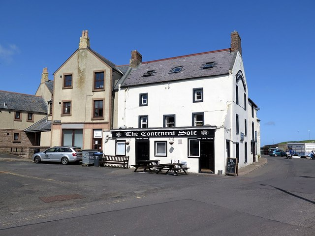 The Contented Sole, Old Quay, Eyemouth