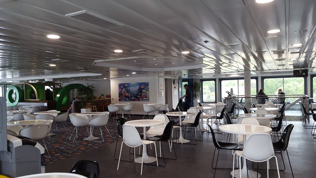 Inside the Ferry, Isle of Wight