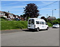 ST1697 : Phoenix minibus, Attlee Road, Blackwood by Jaggery