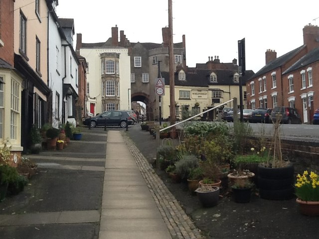 Back of Broad Gate (Ludlow)