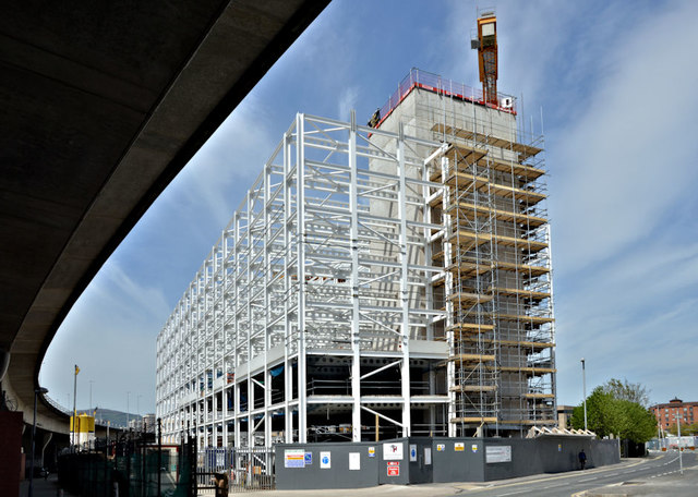 The City Quays car park site, Belfast - May 2018(4)