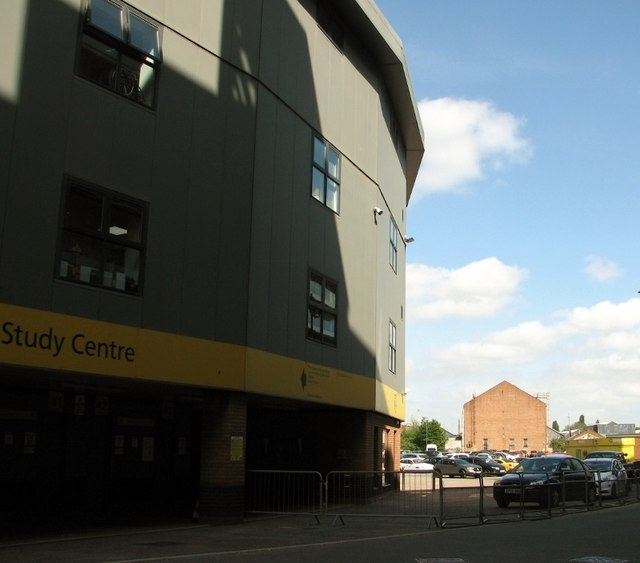 The Study Centre at Carrow Road football stadium