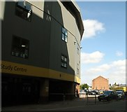 TG2407 : The Study Centre at Carrow Road football stadium by Evelyn Simak