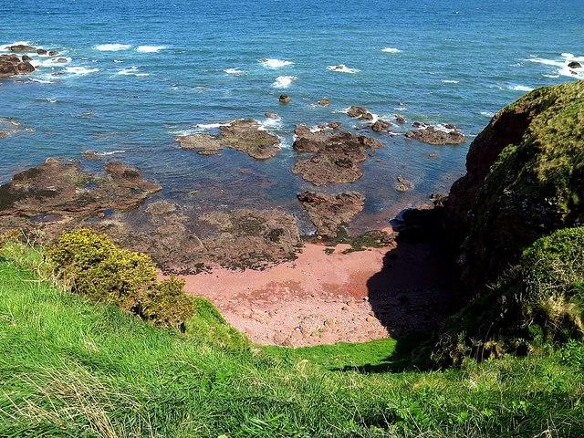 Beach at Killiedraught Bay