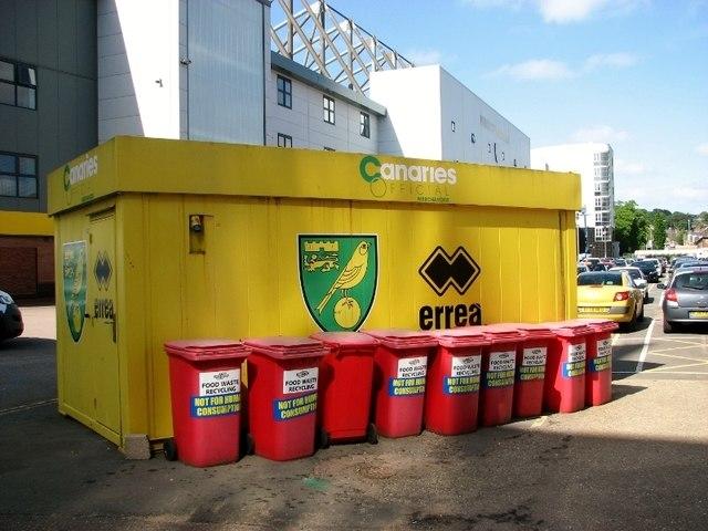 Canaries merchandise kiosk