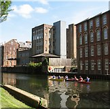 TG2407 : Reflections in the River Wensum by Evelyn Simak