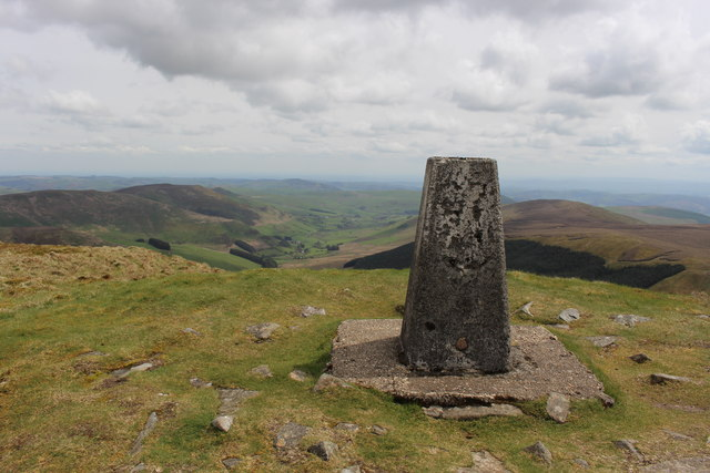 Triangulation pillar on Cadair Berwyn